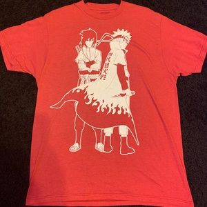 Naruto Shippuden Sasuke Outline Men's T-shirt